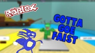 ROBLOX Shenanigans: Speed Run 4 - JUMP SOUNDS FTW!