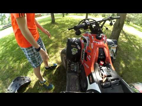 Тест Драйв Квадроцикла Stels ATV 50