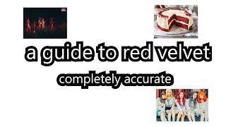 an unhelpful guide to red velvet - Stafaband