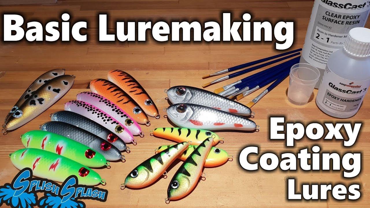 Basic Luremaking - Epoxy Coating Lures