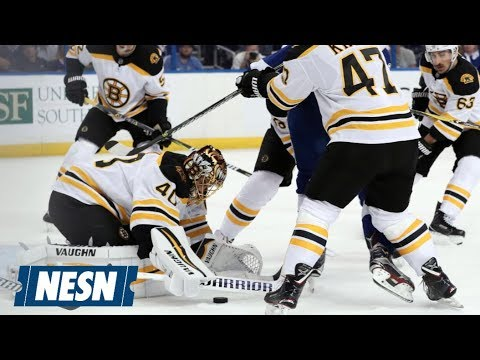 bruins are looking for a two game lead tonight against the lightning