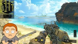Call Of Duty Black Ops 4 Beta GTX 1080 TI 8700K 1440p Frame Rate Performance Test