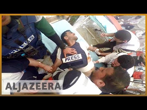🇵🇸 Palestinian journalists fear being targeted during protests | Al Jazeera English