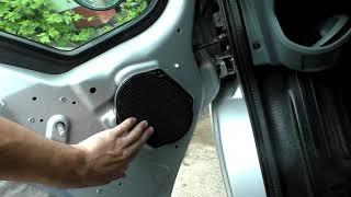 Ford Transit замена ГУ, установка дополнительных динамиков и камеры заднего вида