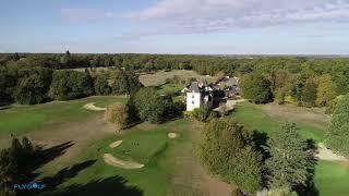 Golf Touraine - Ballan-Miré - Tours - Indre-et-Loire - Val de Loire - Vidéo aérienne