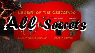 Roblox - Legend of the Crescendo RPG [All Secrets]