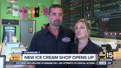 A sneak peek at The Screamery ice cream shop in downtown Chandler