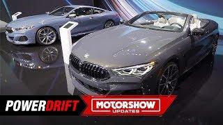2020 BMW 8 Series Convertible : Luxury drop-top : 2018 LA Auto Show : PowerDrift