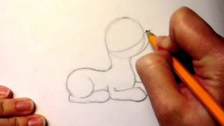 Как Нарисовать Очаровательную Пони & My Little Pony