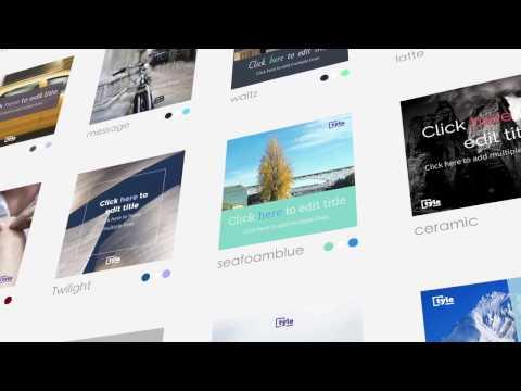 tyle.io introduction - design tool for non-designer