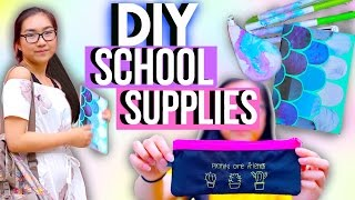 DIY School Supplies 2016 | Decorate for Back to School | JENerationdIY