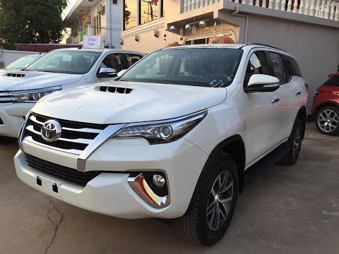 new 2017 2018 toyota fortuner full option the best saling mid size suv brief review youtube. Black Bedroom Furniture Sets. Home Design Ideas