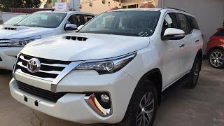 New 2017-2018 Toyota Fortuner full option | The best saling mid-size SUV | brief review