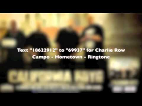 Charlie Row Campo - Hometown - Taken From California Boys - Urban Kings