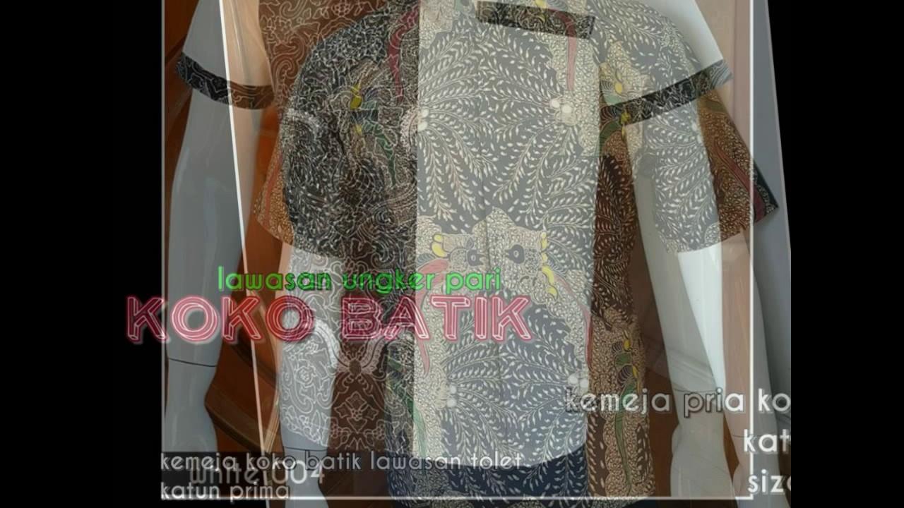 Wa 0816355490 Baju Koko Batik Tanah Abang Bahan Modern 14