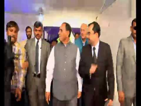 CM lays foundation stone of ITC Narmada Hotel at Vastrapur, Ahmedabad