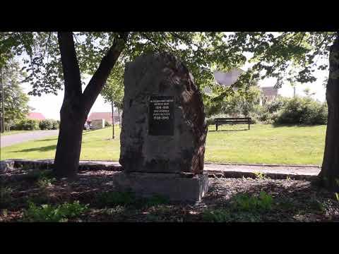 Žižice - Pomník Obětem 1. A 2.světové Války