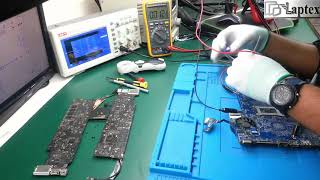 Chip level laptop motherboard repair training FREE practical | online offline laptop repair training