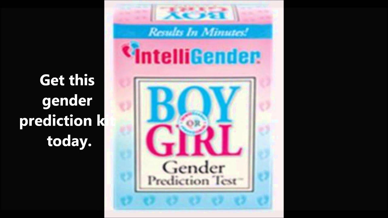 Baby Gender Predictor Kit