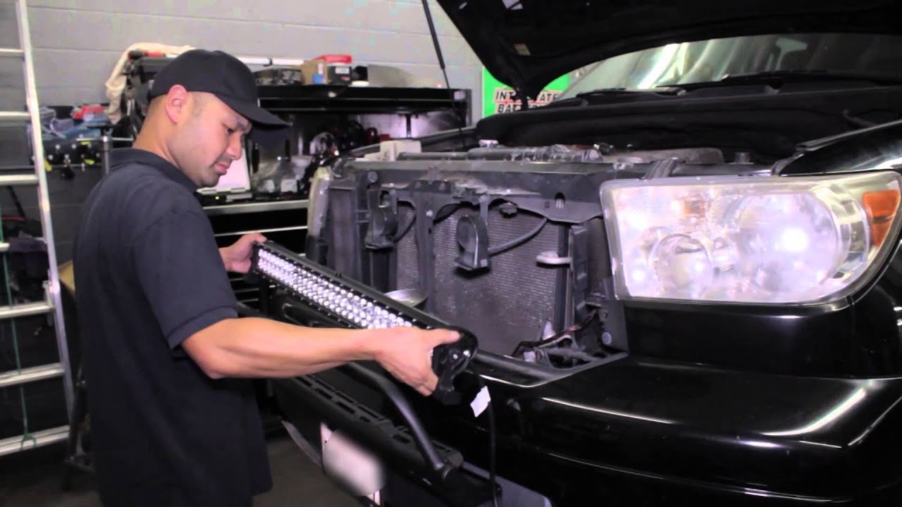 Project LM Light Bar Installation On Toyota Tundra Design
