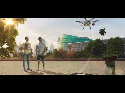 Dubai Civil Aviation Authority VFX Breakdown - Dubai 10 X