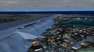 FS2004 - Landing at Malta International Airport with Tui Fly B737.mp4