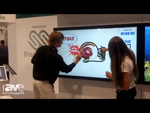 InfoComm 2014: Baanto Showcases their Tounch Enabled Display