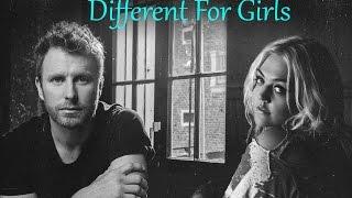 Different For Girls Dierks Bentley (ft. Elle King) Lyrics