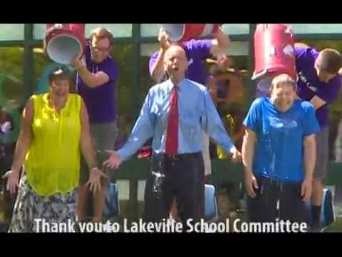 Freetown Lakeville School Administrators ALS Ice Bucket Challenge
