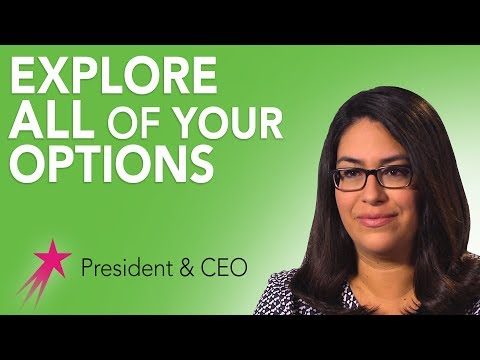 President & CEO: Career Advice For Girls - Sonya Garcia Ulibarri Career Girls Role Model
