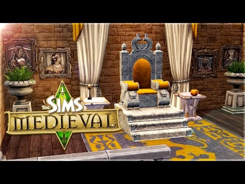 The Sims Medieval || Castle Build || My Dream Castle