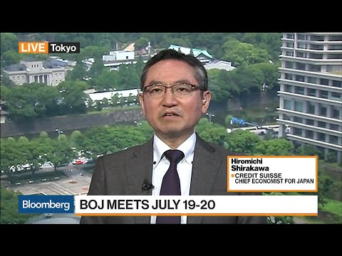 CS's Shirakawa Sees Japan's Manufacturing Growing