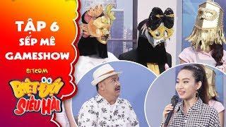 Biệt đội siêu hài | Tập 6 - Tiểu phẩm: Sếp Anh Tuấn khiến cả phòng