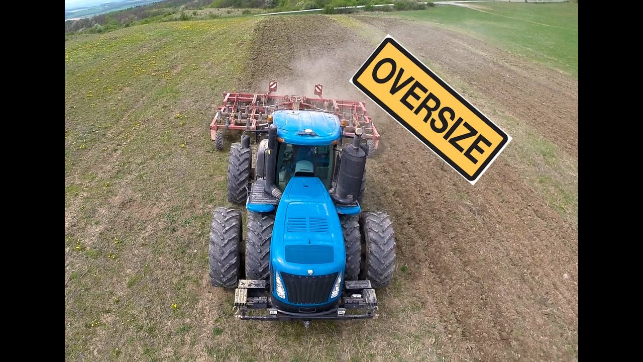 World Biggest Tractor New Holland T9 670 Bednar Swifter