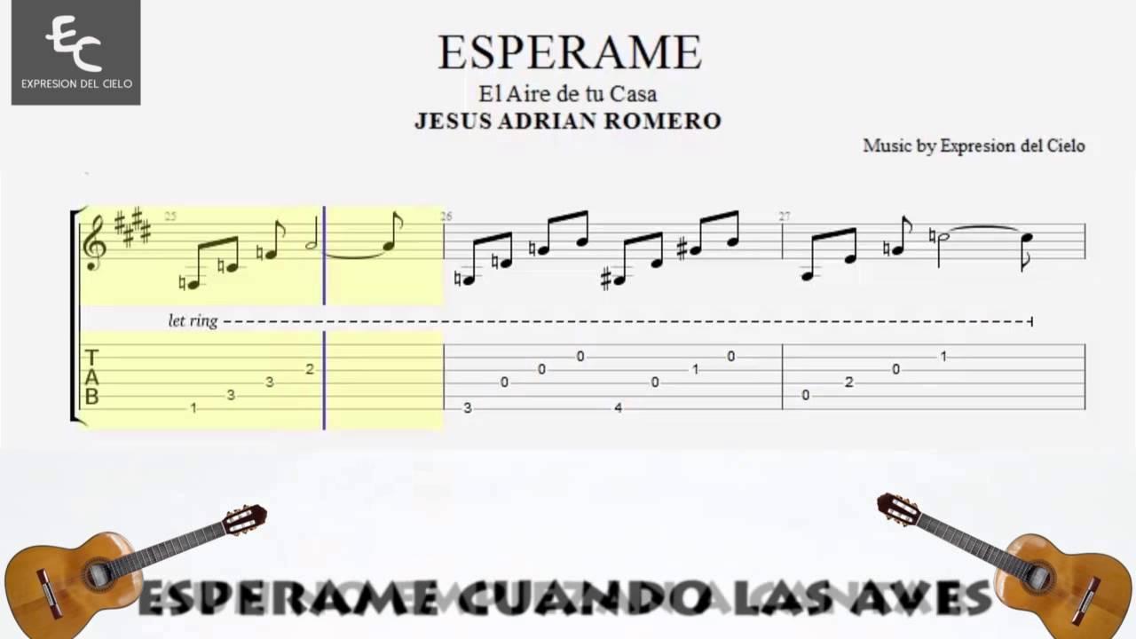 +Romero+Partituras ... Jesus Adrian Romero - Tutorial de Guitarra ...