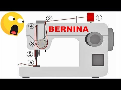 Sewing Machine Bernina Vintage Bobbin Winding Threading YouTube Inspiration Bernina 160 Sewing Machine