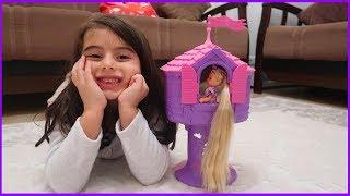 Rapunzel 'in Kulesi Oyuncak | Rapunzel Oyuncak Bebek | Rüya'nın Çiftliği