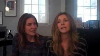 Bill Lawrence interviews Sarah Chalke and Christa Miller