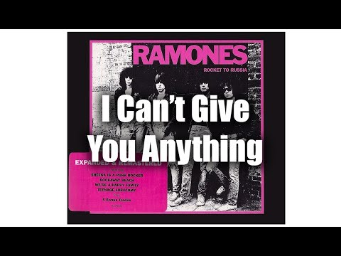 Ramones i can t give you anything remastered