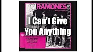 Ramones - I Can't Give You Anything (Subtitulado en Español)