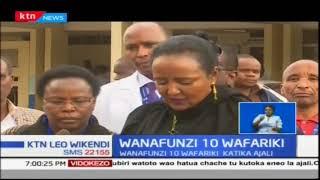 Wanafunzi 10 wafariki katika ajali ya barabara Mwingi