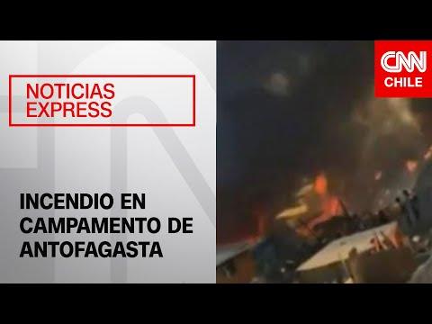 20 casas quemadas en Antofagasta
