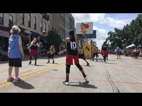 2016 Gus Macker Quincy IL 3v3 - vs Teenage Mutant Ballers