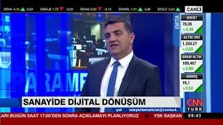 Medianova CEO'su Serkan Sevim CNNTürk'de Parametre programındaydı