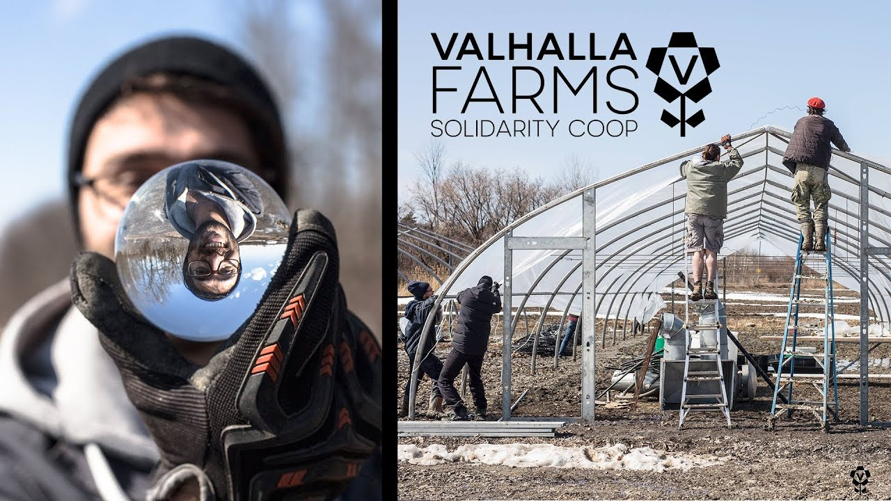 Kickoff To A New Season With Baskets & Greenhouses! - Valhalla Farm of the Future 2018