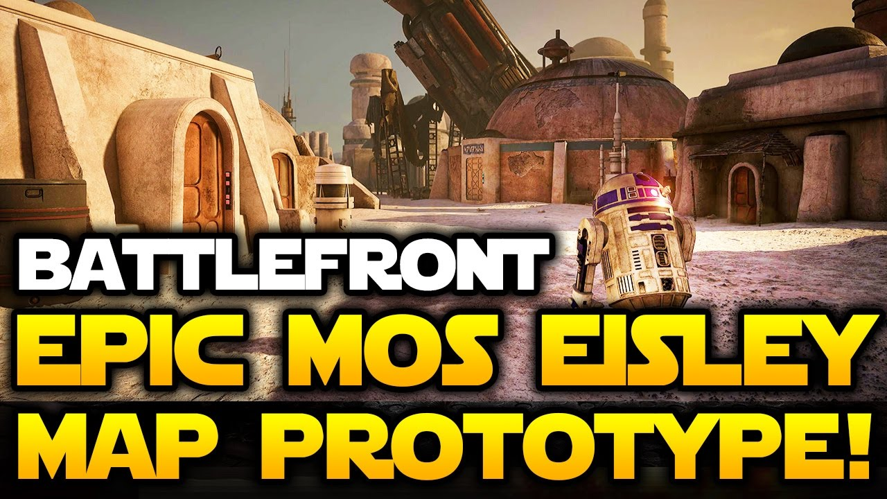 Star Wars Battlefront Epic Mos Eisley Map Prototype In Unreal
