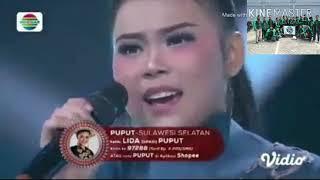 Lagu Makassar JANJINGKU vokal Puput LIDA | liga Dangdut Indosiar