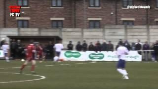 AFC Rushden & Diamonds v Wisbech Town - UCL - 21/03/15 *Wisbech goal only*