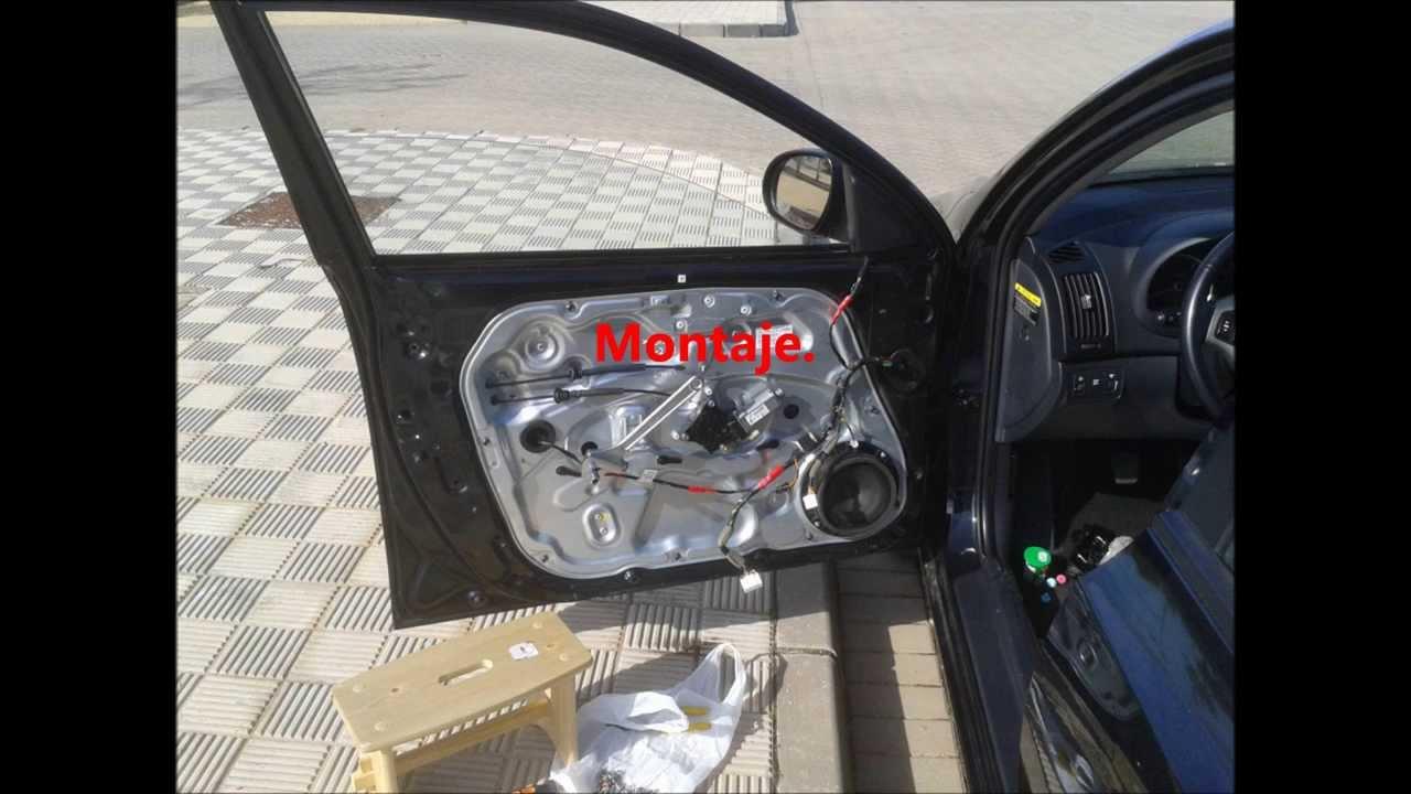 Elevalunas Puerta Izquierda Conductor Hyundai I30 Youtube