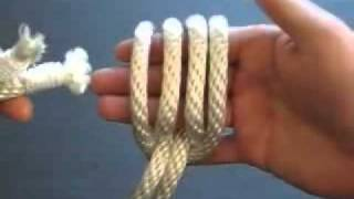 How to Tie the Zip Snare - Rope Bondage Knot Tutorial